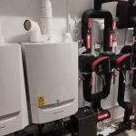 Finalizadas las obras de sustitución de sistema de agua caliente en duchas del polideportivo municipal en Olaz
