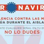 Campaña especial contra la violencia de género en situación de aislamiento domiciliario