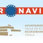Nuevo portal web con toda la información relativa al Covid-19 en el Valle de Egüés