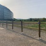 El Ayuntamiento del Valle de Egüés ha inaugurado hoy un área de autocaravanas en Sarriguren