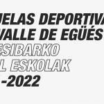 LISTADO DE ADMITIDOS/AS EN ESCUELAS DEPORTIVAS VALLE DE EGÜÉS
