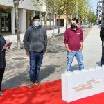 Hoy se ha inaugurado EgüésBrick, la acción de promoción del comercio local a través de la construcción de Lego innovadora en España